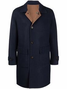 двустороннее пальто с карманами ELEVENTY 169152905356