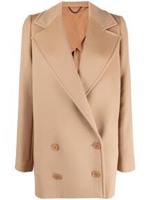 двубортное пальто оверсайз Stella Mccartney 164922575250