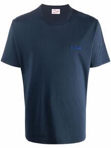 футболка с вышитым логотипом MC2 SAINT BARTH 1673042176