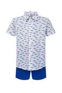 Комплект: рубашка, шорты Aletta 13492633