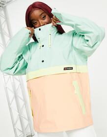 Розово-голубая свободная куртка Smock 86-Розовый цвет Berghaus 11490427