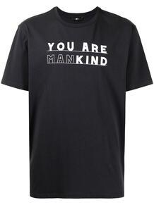 футболка с надписью 7 for all mankind 1653033283