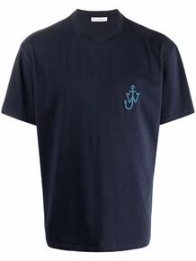 футболка с нашивкой Anchor JW Anderson 1689250676
