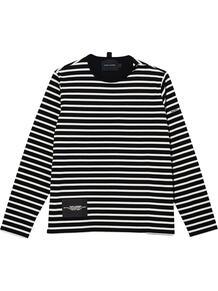футболка в полоску Marc by Marc Jacobs 1677524076