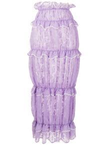 кружевная юбка с оборками yuhan wang 1663569383