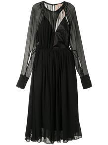 многослойное прозрачное платье №21 147478205250