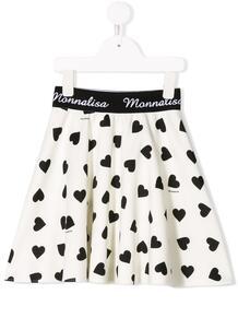 расклешенная юбка с принтом Monnalisa 1445584951