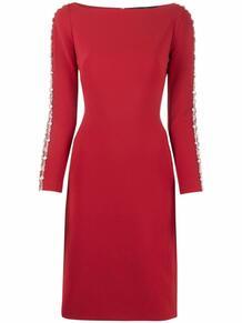 платье-трапеция с кристаллами Jenny Packham 168419954948
