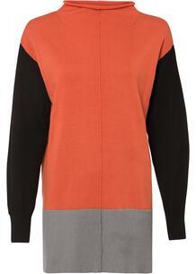 Пуловер удлиненный bonprix 267423182