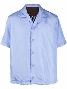 рубашка с короткими рукавами и принтом Bottega Veneta 169274555256