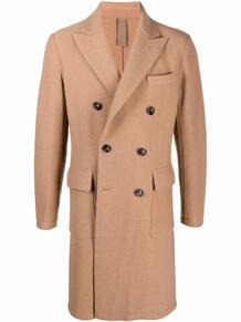 двубортное пальто ELEVENTY 169466575256