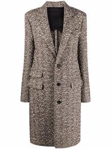 пальто с узором в елочку Bottega Veneta 169348475156