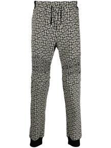 спортивные брюки с монограммой BALMAIN 1633201183