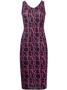 облегающее платье с монограммой John Richmond 162483425156