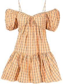 платье в клетку CINQ À SEPT 1693810256