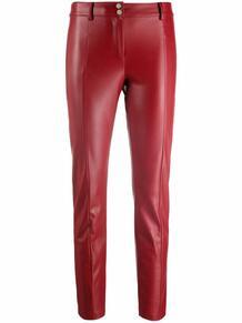 укороченные брюки кроя слим Patrizia Pepe 167868035250