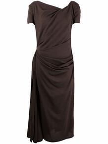 платье с драпировкой TALBOT RUNHOF 164214245248