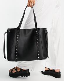 Черная сумка-тоут -Черный цвет TOPSHOP 101794276