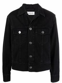 джинсовая куртка с нашивкой-логотипом Lanvin 169704865348