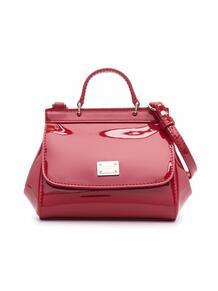 лакированная сумка через плечо Dolce & Gabbana Kids 16929691791101013283