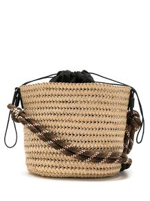 соломенная сумка-ведро OSKLEN 15617166636363633263