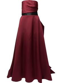 платье с без бретелей с драпировкой Solace London 169615824950