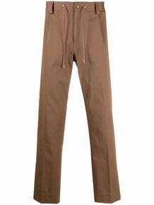 брюки с кулиской и логотипом MONCLER 169830225254