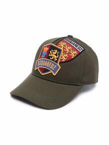 бейсбольная кепка с нашивкой Dsquared2 Kids 170099157373