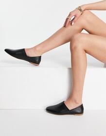 Кожаные туфли-слипоны черного цвета Ayden-Черный цвет Vagabond 11203370