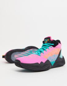Розовые с черным баскетбольные кроссовки TWO WXY-Черный New Balance 10851325