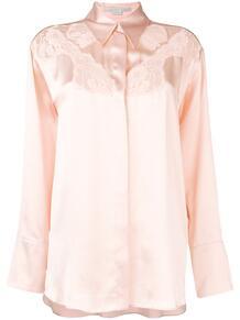 рубашка с кружевом Stella Mccartney 139293385250