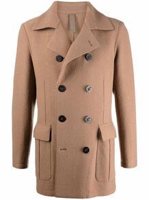 двубортное пальто ELEVENTY 170018365256