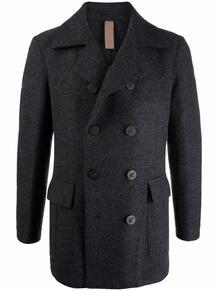двубортное пальто ELEVENTY 170031195252
