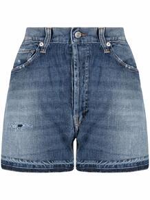 джинсовые шорты с эффектом потертости DEPARTMENT 5 166512315055