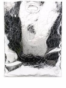 сумка-шопер с эффектом металлик Trussardi jeans 16754912636363633263