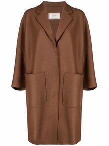 пальто миди с укороченными рукавами HERNO 169982085248