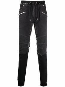 брюки с необработанными краями BALMAIN 170201935256
