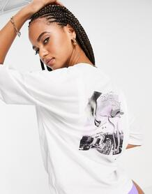 Белая футболка Voltrip-Белый Volcom 11582030