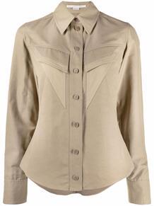 рубашка с карманом Stella Mccartney 170197515248
