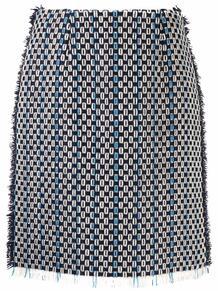юбка с бахромой Lanvin 170223345248
