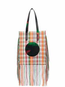 сумка-тоут с бахромой из коллаборации с Kennet Ize Lagerfeld 16702430636363633263