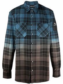клетчатая рубашка на пуговицах MAUNA KEA 1704688976