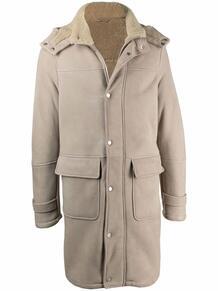 пальто с подкладкой из овчины ELEVENTY 169451575352