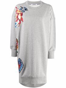 платье-толстовка с цветочной вышивкой VIVETTA 169913508883