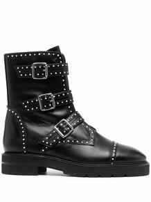 ботинки Jesse Lift с заклепками Stuart Weitzman 170508275155