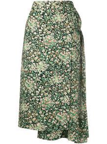 юбка с цветочным принтом и сборками №21 152040765154