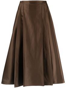 юбка А-силуэта со складками Marni 162716865250