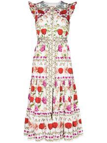 платье мини Daisy с оборками Borgo De Nor 164533164952