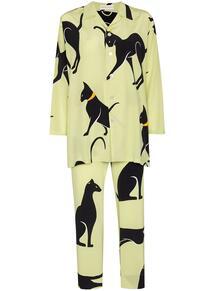 шелковая пижама Casablanca Saxa с принтом Olivia Von Halle 1670545877