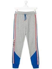 спортивные брюки с лампасами и логотипом Kenzo kids 14879188495232121114